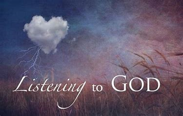 Listening to God picture